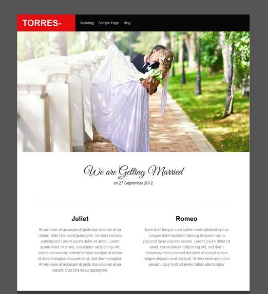 Torres-engage-Free-wedding-wordpress-theme