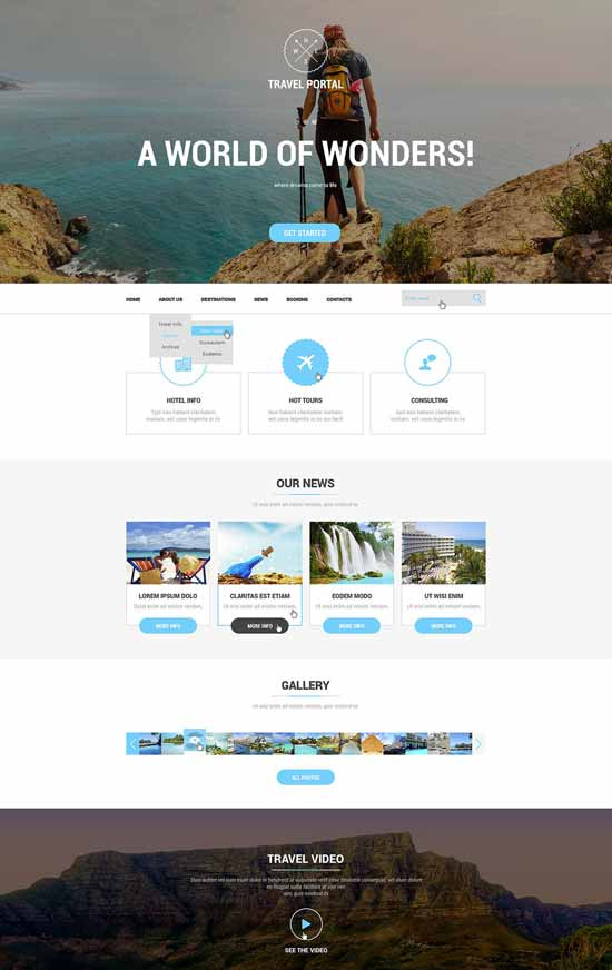 Travel-Agency-Responsive-Website-Template