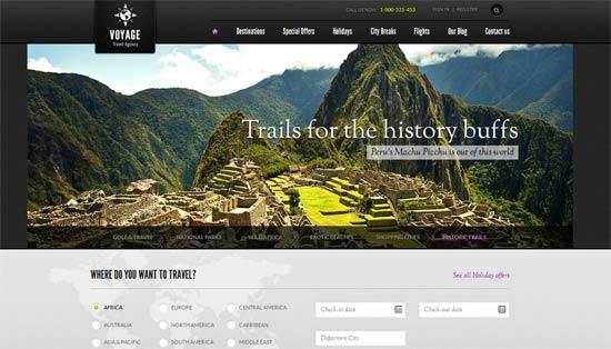 TravelAgencyHTML