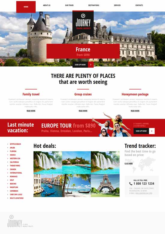 Travelling-Travel-Joomla-Template