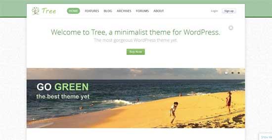 Tree-Minimal-Blog