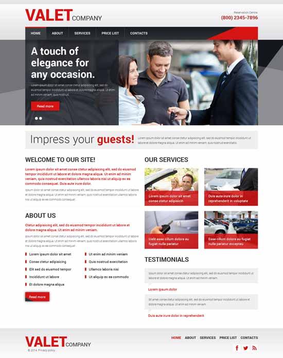 VALET-Car-Dealer-Responsive-Website-Template