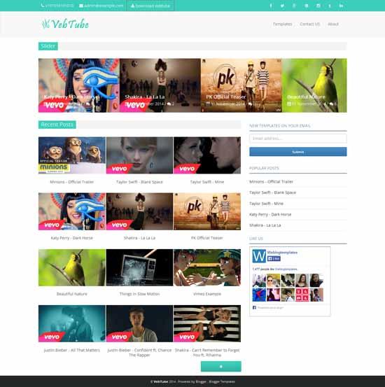 Vebtube-Responsive-Video-Blogger-Template