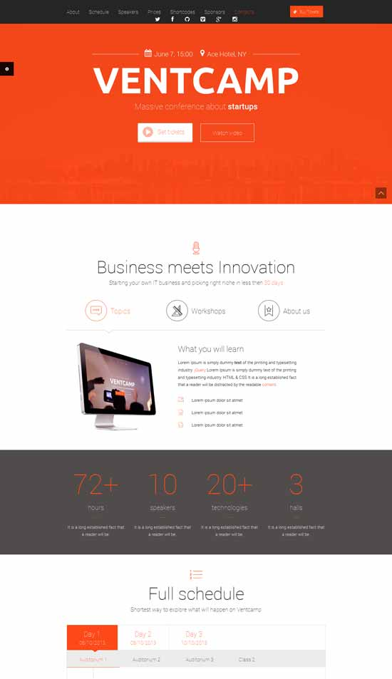 Ventcamp-Responsive-Conference-Landing-Page