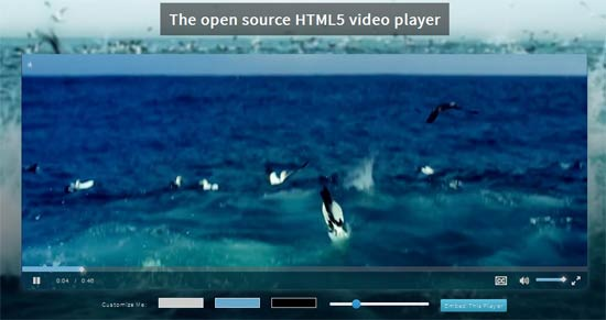 VideoJS - HTML5 Video Player Framework