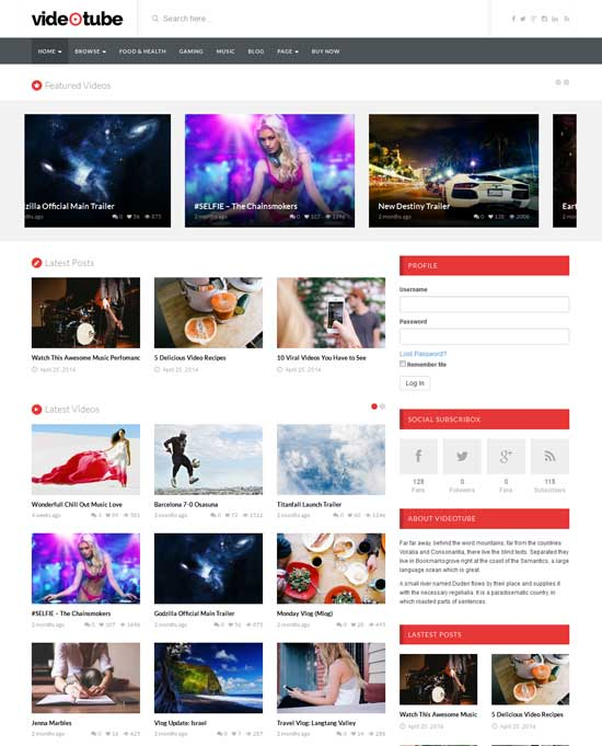 VideoTube-A-Responsive-Video-WordPress-Theme