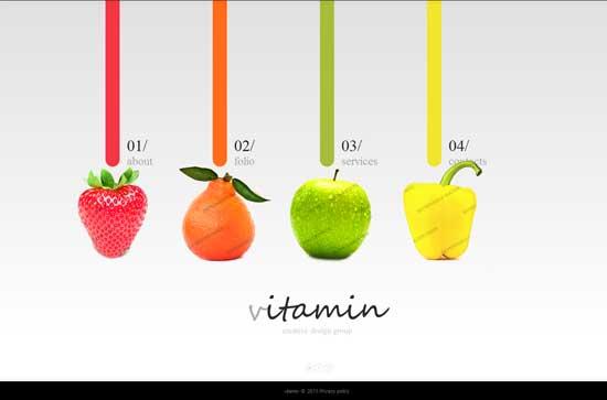 Vitamin-Creative-Design-Studio-Website-Template