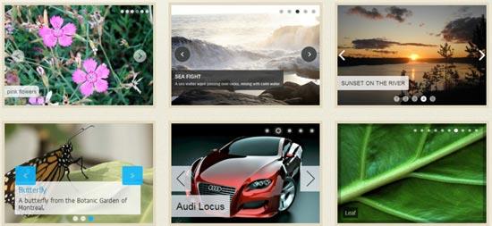 WOW Slider - Free responsive jQuery image slider
