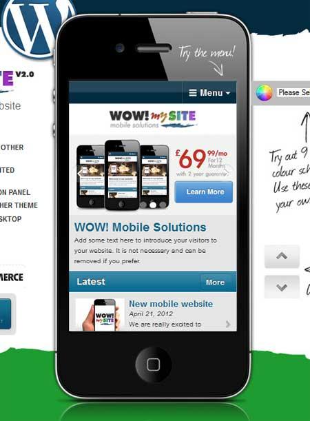 WOW-mySite-WordPress-Mobile-Theme