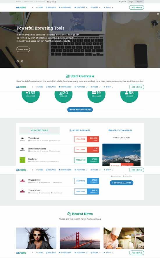 WPJobus-Job-Board-and-Resumes-WordPress-Theme