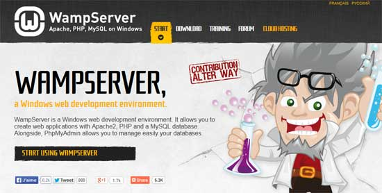 WampServer-Windows-web--server-development