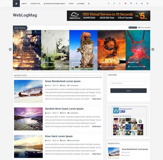 WeblogMag-Responsive-Professional-Blogger-Template