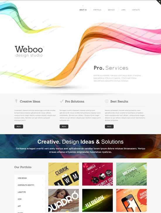 Weboo-Design-Studio-Responsive-Website-Template