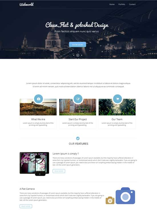 Webworld-Free-Responsive-Business-template