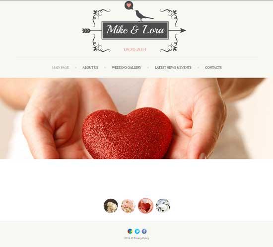 Wedding-Album-Website-Template
