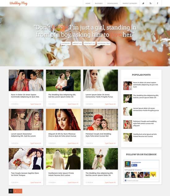 Wedding-Mag-Responsive-Blogger-Template