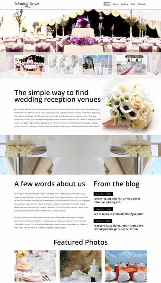 Wedding-Venues-Responsive-Website-Template
