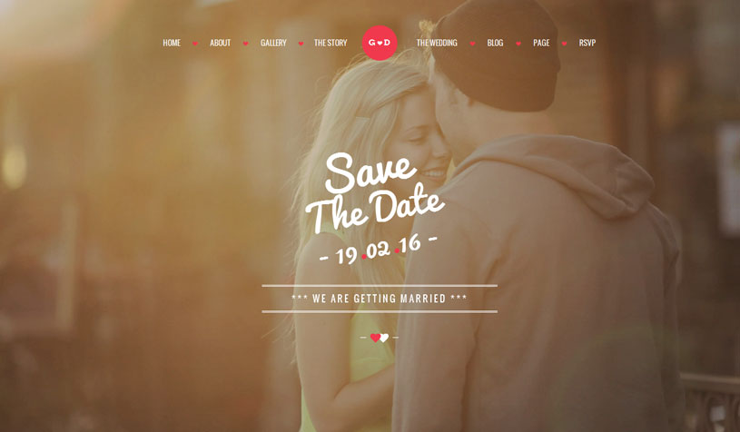 Best Wedding Websites.80 Best Wedding Website Templates Free Premium Freshdesignweb