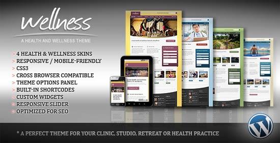 Wellness - A Health & Wellness WordPress Theme