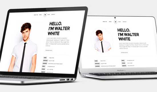White-Creative-Resume-Portfolio-Template