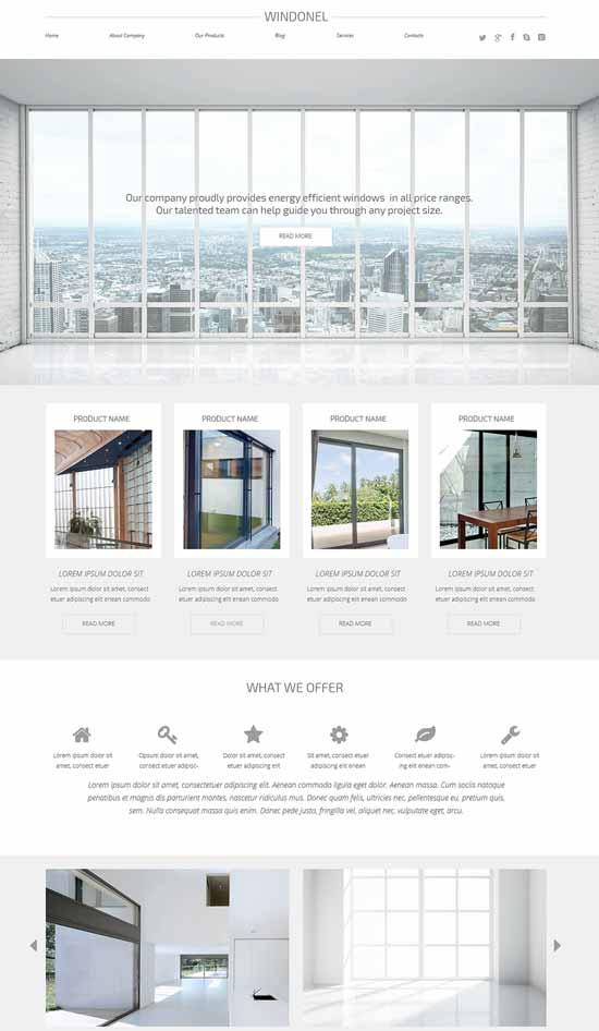 Window-Responsive-WordPress-Theme