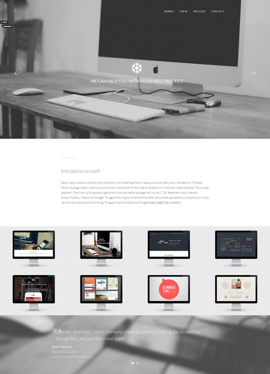 Wintered-Elegant-One-Page-Template