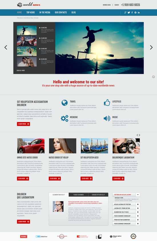 World-News-Responsive-Joomla-Template