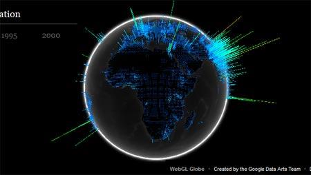 The World Wonders 3D globe