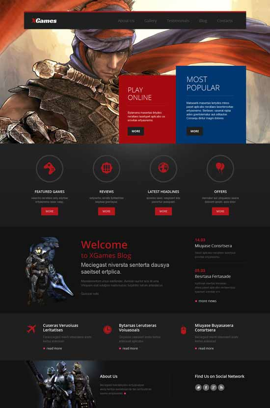 XGames-Games-WordPress-Theme
