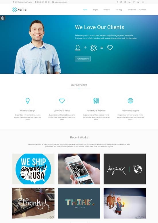 Xenia-Refined-HTML-5--CSS-3-Corporate-Template