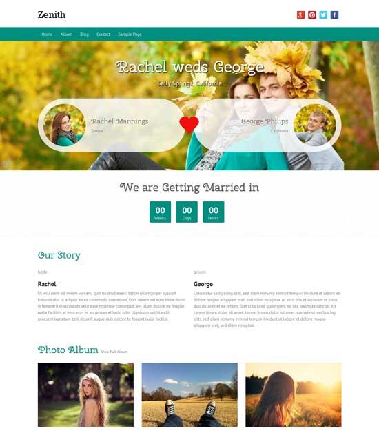 Zenith-Free-premium-responsive-Wedding-WordPress-theme