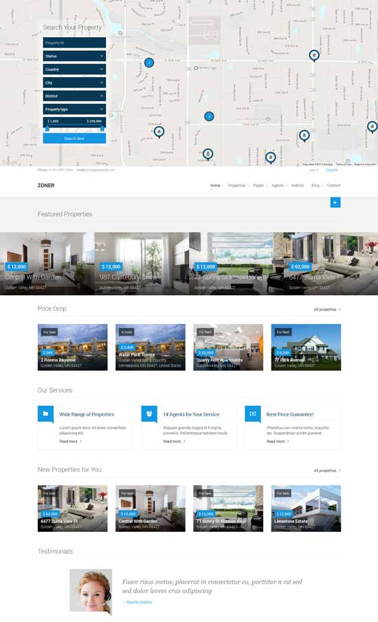 Zoner-Joomla-Real-Estate-website