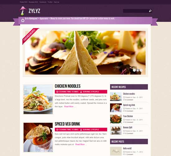 Zylyz-Free-Foods-WordPress-Theme