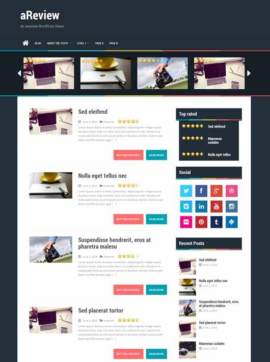 aReview-Free-wordpress-Bootstrap-Theme