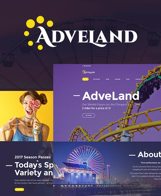 adveland wordpress travel theme