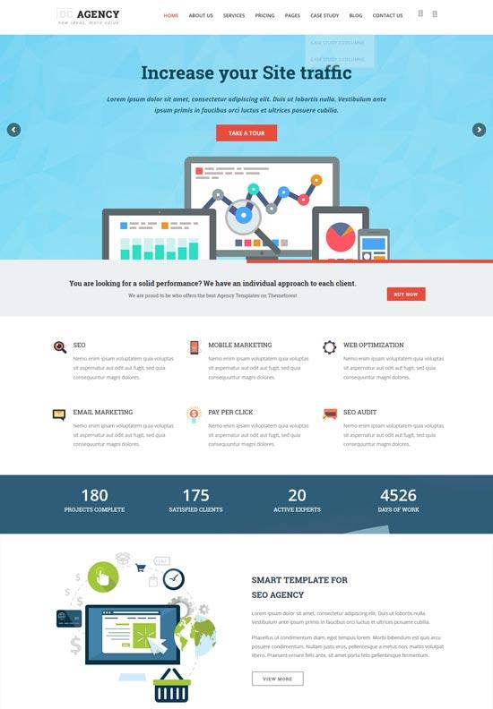 agency web design seo WordPress theme