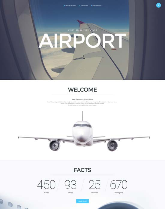 airport-joomla-template