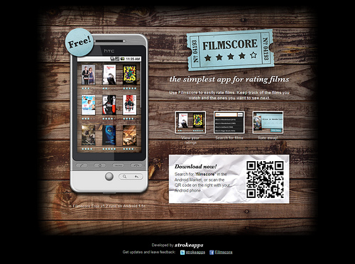 android webdesign1 30+ Android Applications Website Designs For Your Inspiration