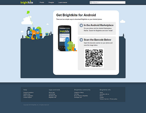 android webdesign14 30+ Android Applications Website Designs For Your Inspiration