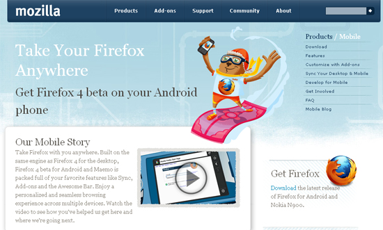 android webdesign27 30+ Android Applications Website Designs For Your Inspiration