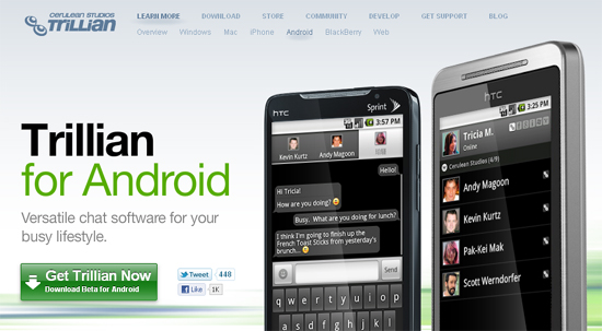 android webdesign29 30+ Android Applications Website Designs For Your Inspiration