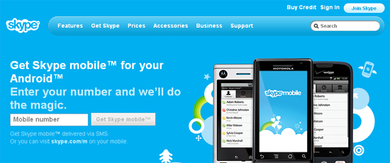android webdesign30 30+ Android Applications Website Designs For Your Inspiration