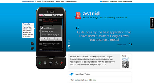android webdesign5 30+ Android Applications Website Designs For Your Inspiration