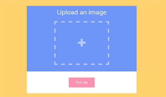 animated image upload form