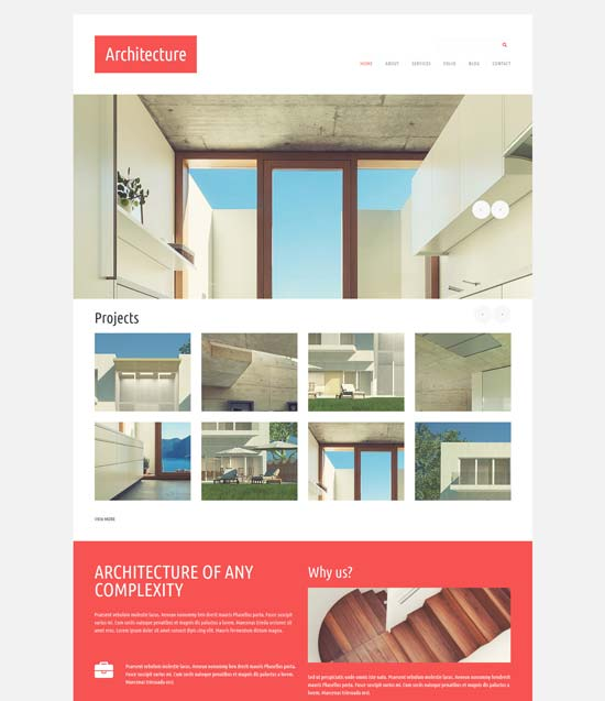 architecture design joomla template 52411
