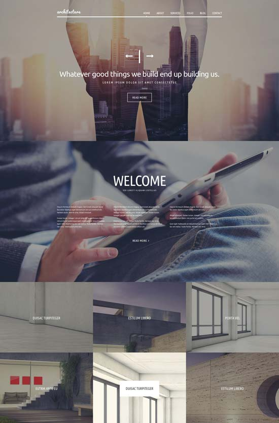 architecture joomla template 53361