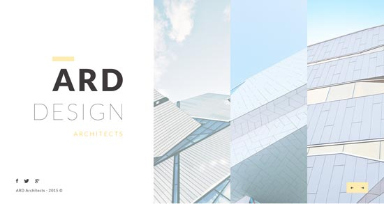 ARD Architect HTML Template