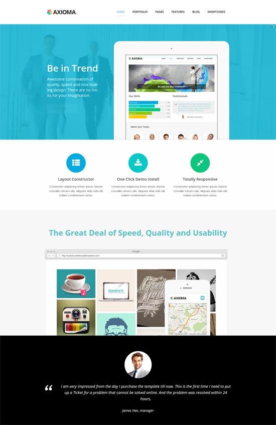 axioma seo web-design agencies wp theme