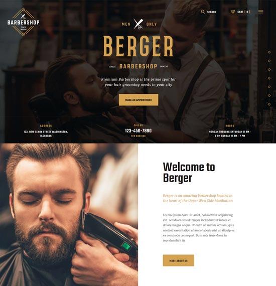berger-barbershop-wordpress-theme