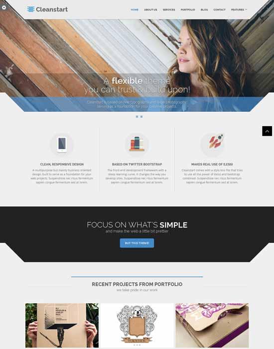 best-premium-website-template-CLEANSTART